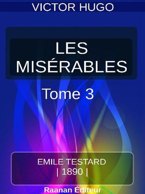 cover image of LES MISÉRABLES  TOME III – MARIUS