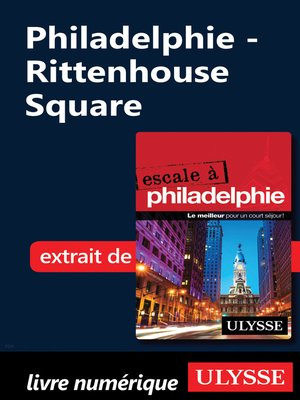 cover image of Philadelphie--Rittenhouse Square
