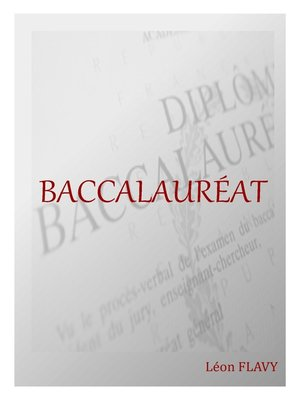 cover image of BAC FRANCAIS*****