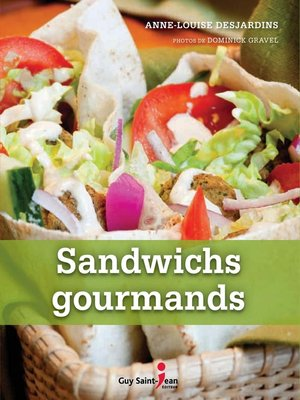 cover image of Sandwichs gourmands