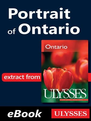 cover image of Portrait of Ontario