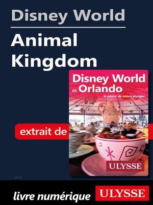 cover image of Disney World--Animal Kingdom