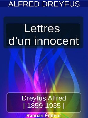 cover image of Lettres d'un innocent