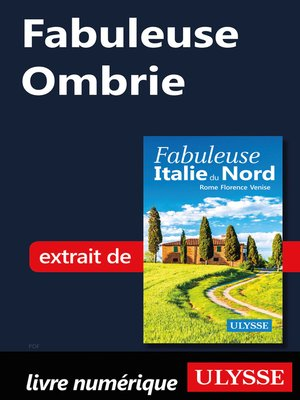 cover image of Fabuleuse Ombrie