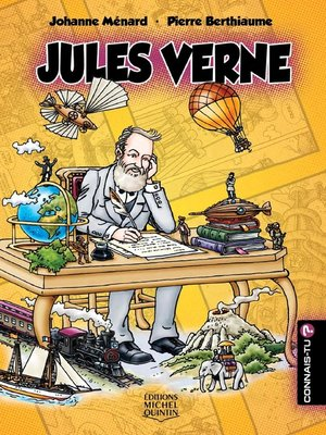 cover image of Connais-tu?--En couleurs 13--Jules Verne