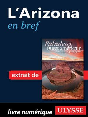 cover image of L'Arizona en bref