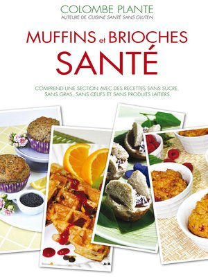 cover image of Muffins et brioches santé