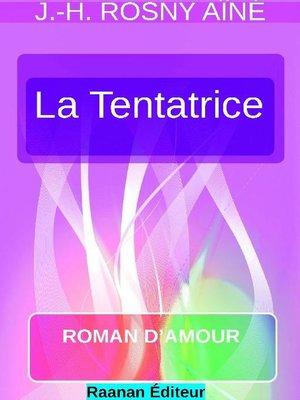 cover image of LA TENTATRICE