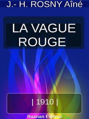 cover image of LA VAGUE ROUGE