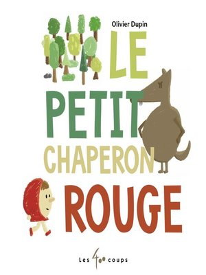 cover image of Le Petit Chaperon rouge
