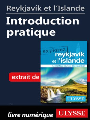 cover image of Reykjavík et l'Islande--Introduction pratique