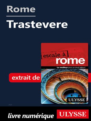 cover image of Rome--Trastevere