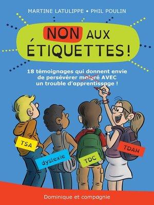 cover image of NON aux étiquettes !