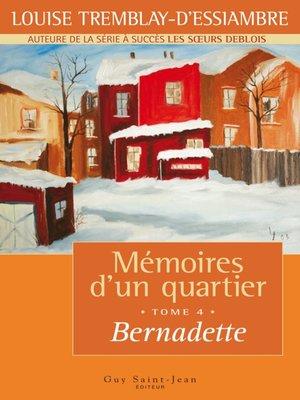 cover image of Bernadette