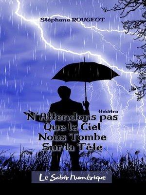 cover image of N'attendons pas que le ciel nous tombe sur la tête