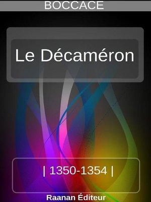 cover image of Le Décaméron