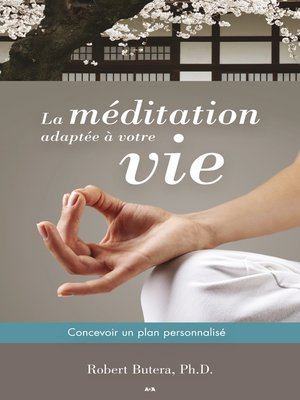 cover image of La méditation adaptée à votre vie
