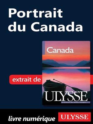 cover image of Portrait du Canada