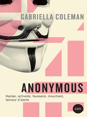 cover image of Anonymous