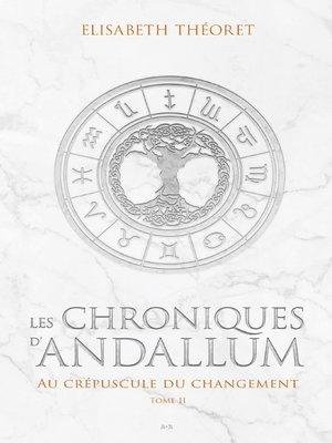 cover image of Au crépuscule du changement