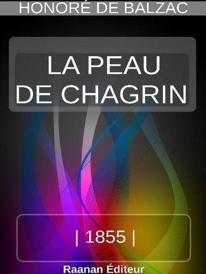 cover image of LA PEAU DE CHAGRIN