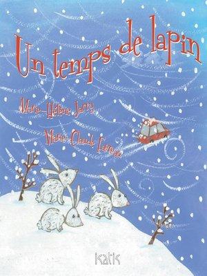 cover image of Un temps de lapin