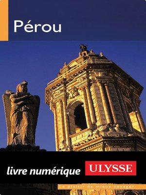 cover image of Pérou