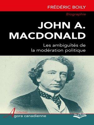 cover image of John A. MacDonald