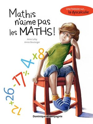cover image of Mathis n'aime pas les maths