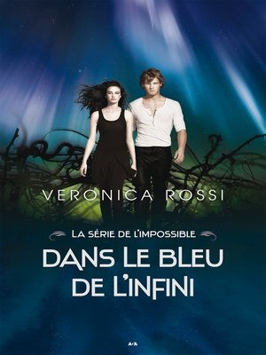 cover image of Dans le bleu de l'infini