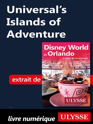 cover image of Universal's Islands of Adventure