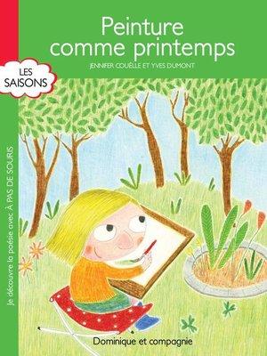 cover image of Peinture comme printemps