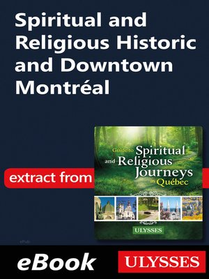 cover image of Spiritual and Religious Historic and Downtown Montréal