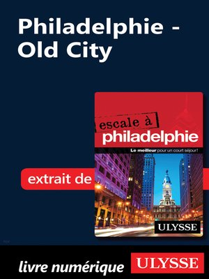 cover image of Philadelphie--Old City