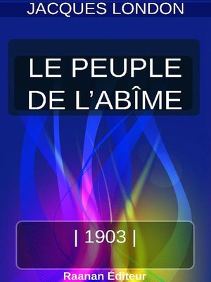 cover image of LE PEUPLE DE L'ABÎME