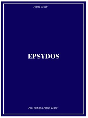 cover image of Epsydos