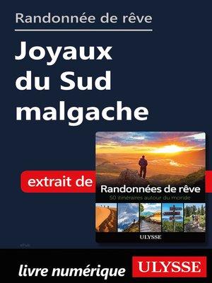 cover image of Randonnée de rêve--Joyaux du Sud malgache