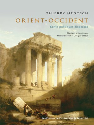 cover image of Orient-Occident