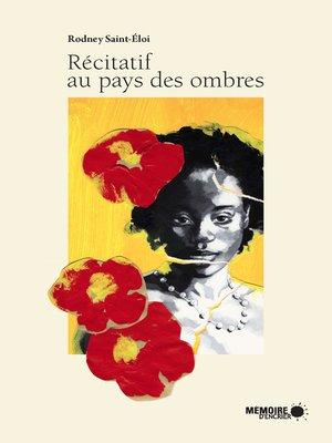cover image of Récitatif au pays des ombres