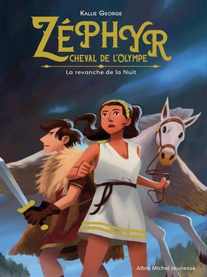 cover image of Zéphyr, cheval de l'Olympe- tome 2