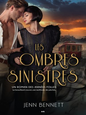 cover image of Les ombres sinistres