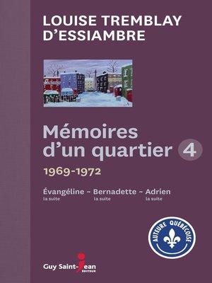 cover image of Mémoires d'un quartier 4