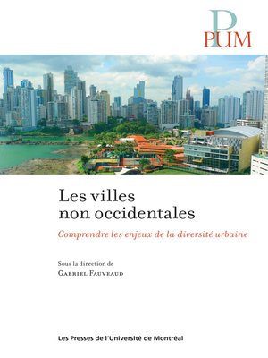 cover image of Les villes non occidentales