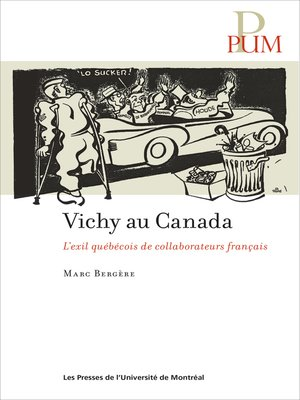 cover image of Vichy au Canada
