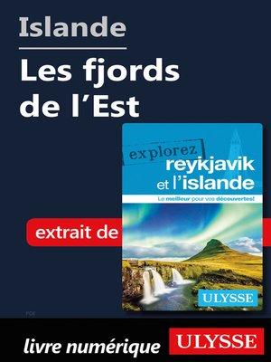 cover image of Islande--Les fjords de l'Est
