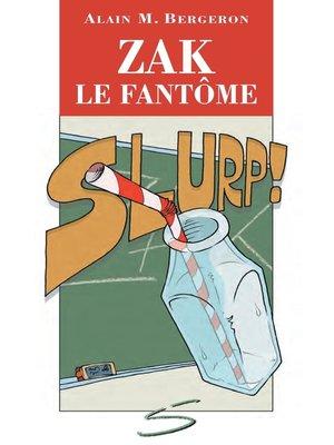 cover image of Zak le fantôme