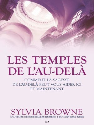 cover image of Les temples de l'Au-delà