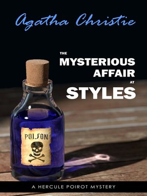 cover image of The Mysterious Affair at Styles (Poirot) (Hercule Poirot Series Book 1)