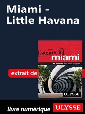 cover image of Miami--Little Havana
