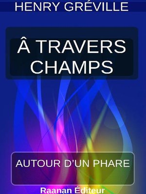 cover image of À TRAVERS CHAMPS